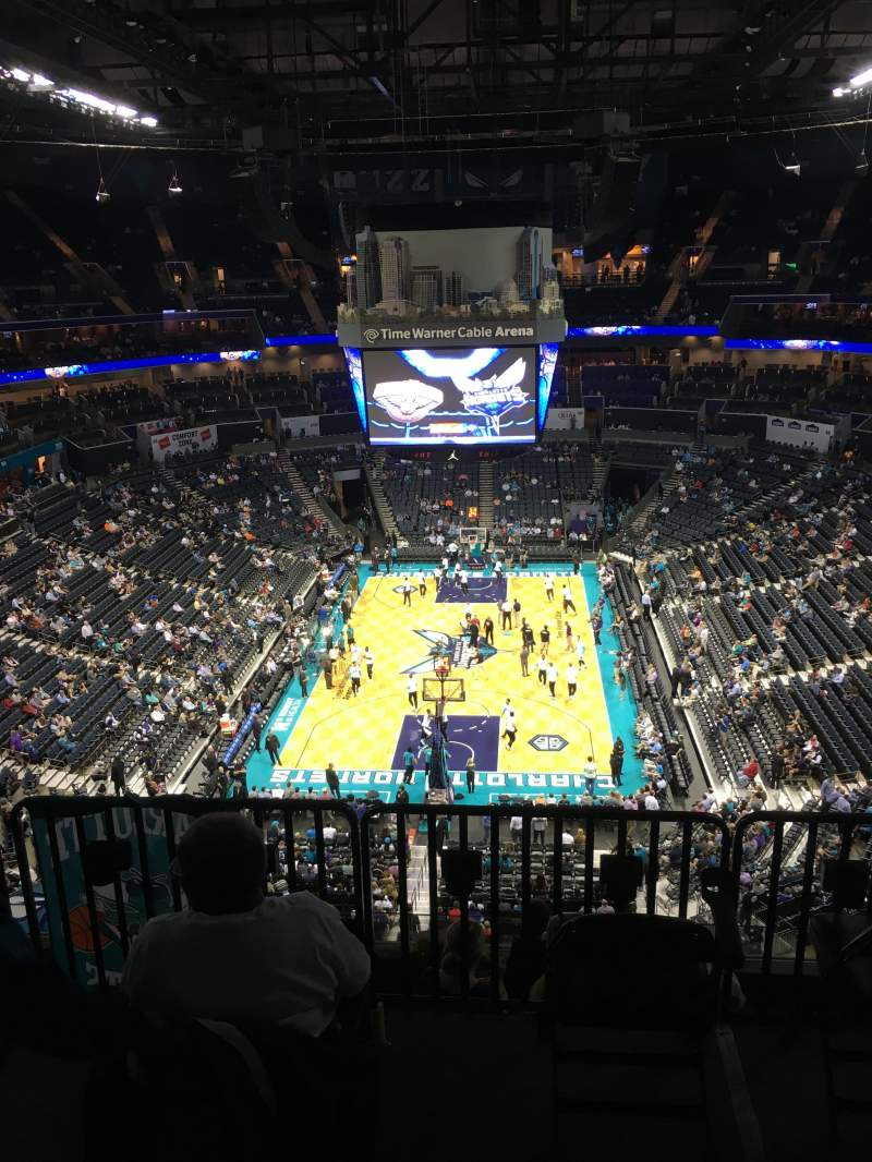Seating view for Spectrum Center Section 233 Row F Seat 15