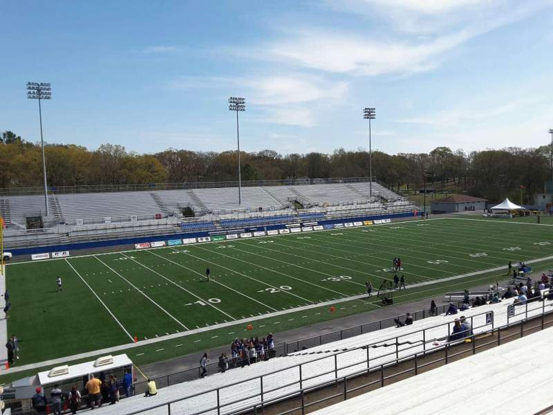 Seating view for Braly Stadium Section A Row 31 Seat 1