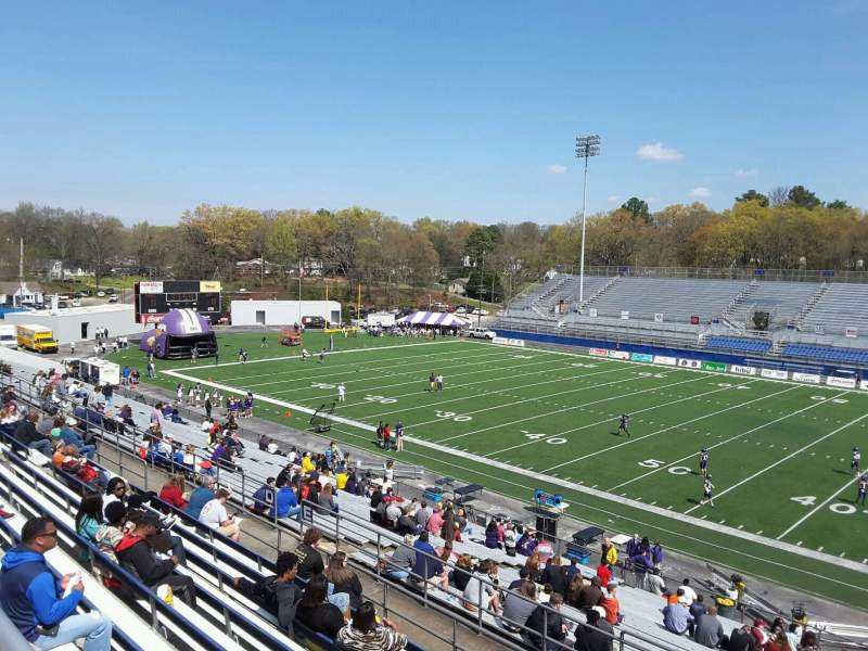 Seating view for Braly Stadium Section Handicap