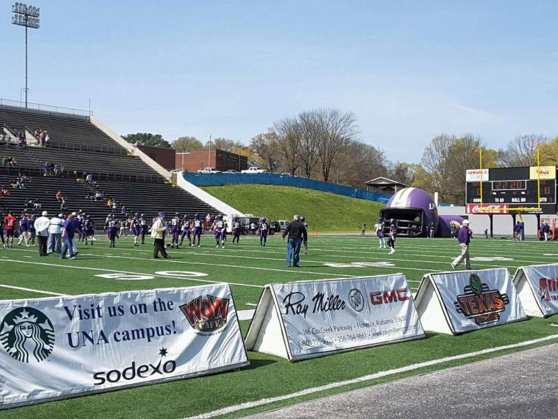 Seating view for Braly Stadium Section KL Row A Seat 40