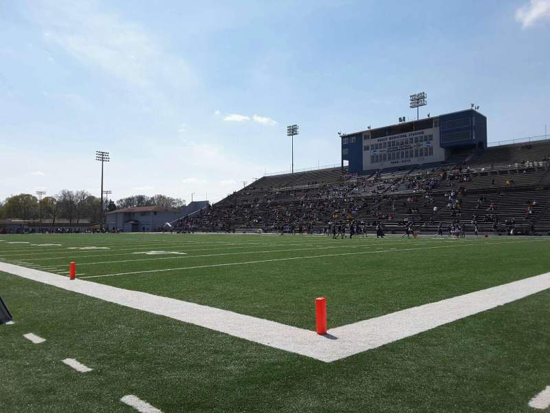 Seating view for Braly Stadium