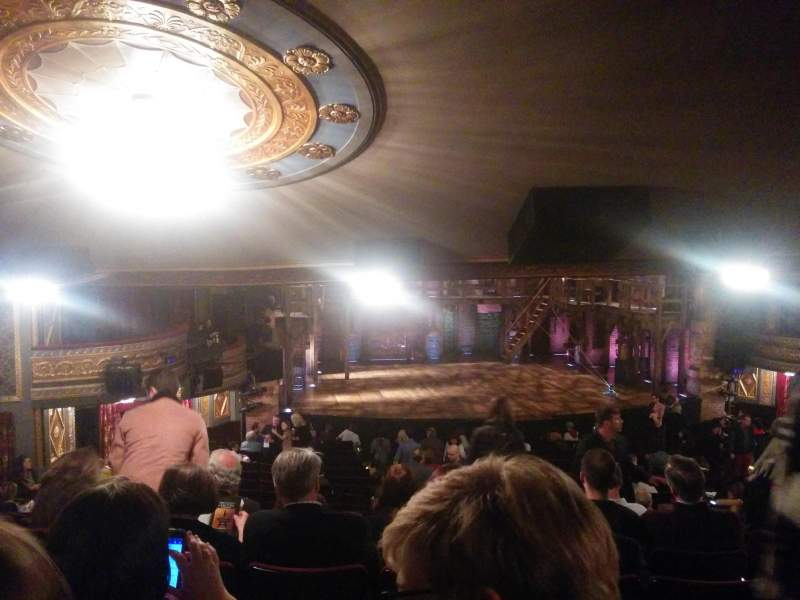Seating view for Richard Rodgers Theatre Section Orchestra Row W Seat 9