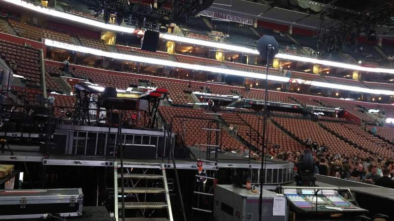 BB&T Center, section: 122, row: 6, seat: 7