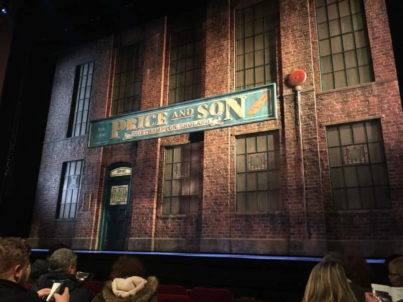 Seating view for Al Hirschfeld Theatre Section Orchestra Row F Seat 4