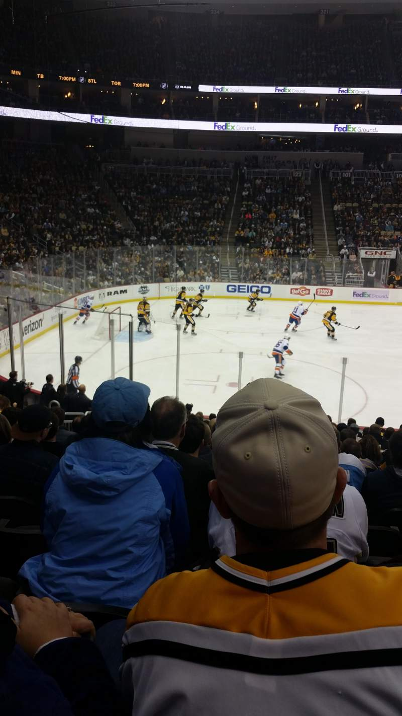 Seating view for PPG Paints Arena Section 114 Row r Seat 5