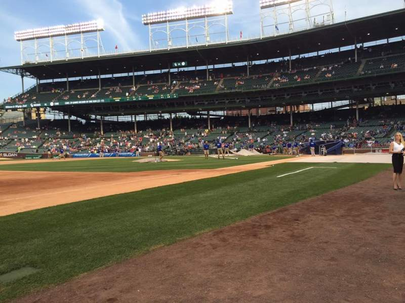 Seating view for Wrigley Field