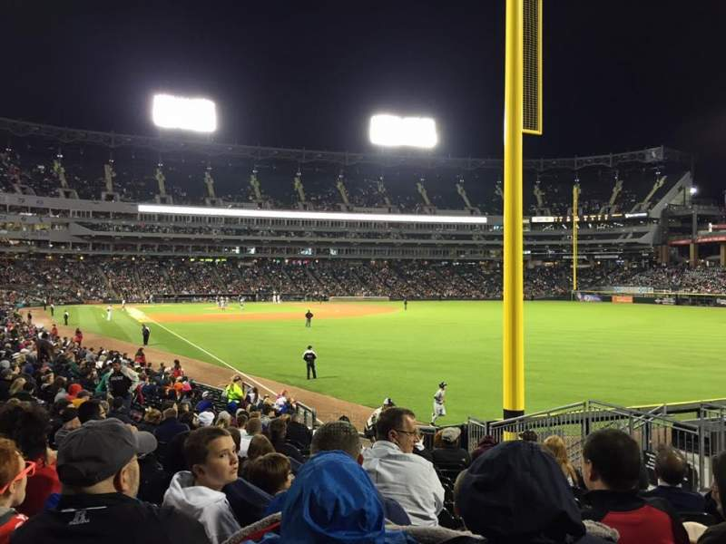 Seating view for U.S. Cellular Field Section 109 Row 21 Seat 6