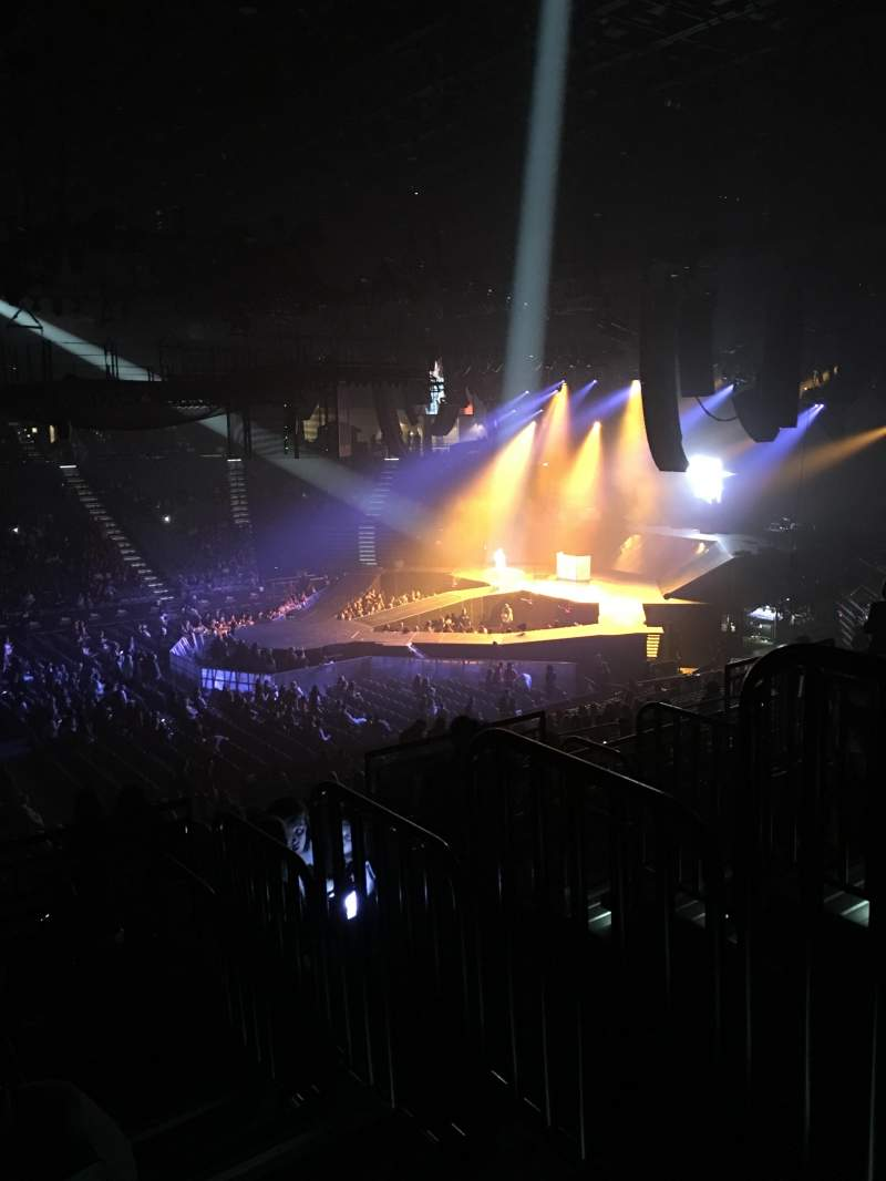 Seating view for MGM Grand Garden Arena Section 110 Row HH Seat 1,2