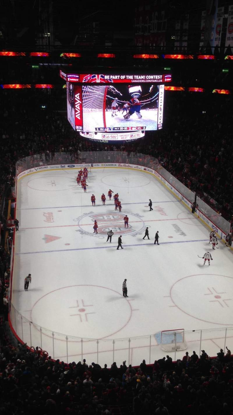 Seating view for Centre Bell Section 329 Row AA Seat 12