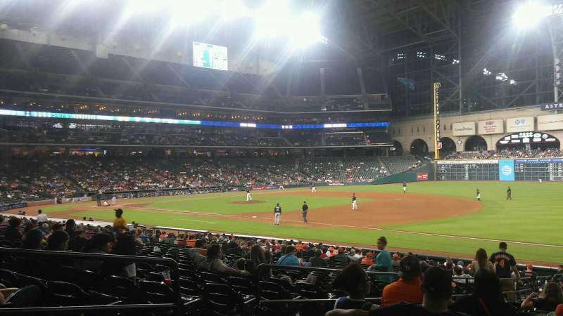 Seating view for Minute Maid ParkRow 27 Seat 5