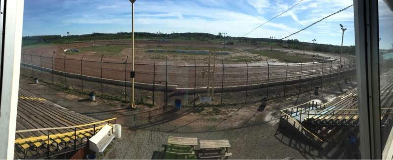 Seating view for Humberstone Speedway