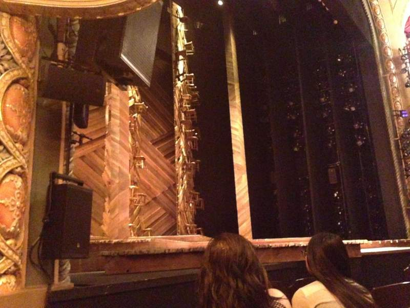 Seating view for Bernard B. Jacobs Theatre Section Orchestra Row D Seat 11