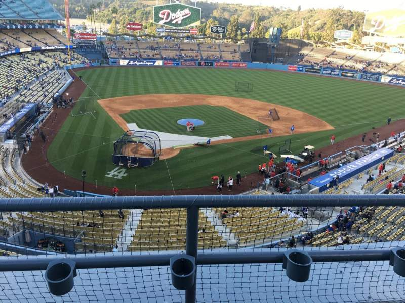 Seating view for Dodger Stadium Section 4 Row B Seat 17