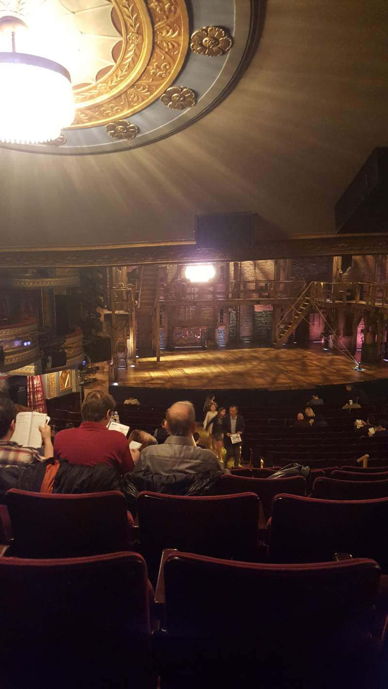 Seating view for Richard Rodgers TheatreRow V Seat 11