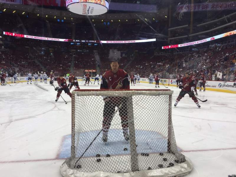Seating view for Gila River Arena Section 117 Row A Seat 8