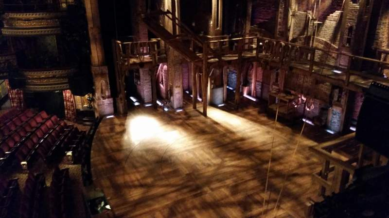 Seating view for Richard Rodgers Theatre Section Box G Seat 3