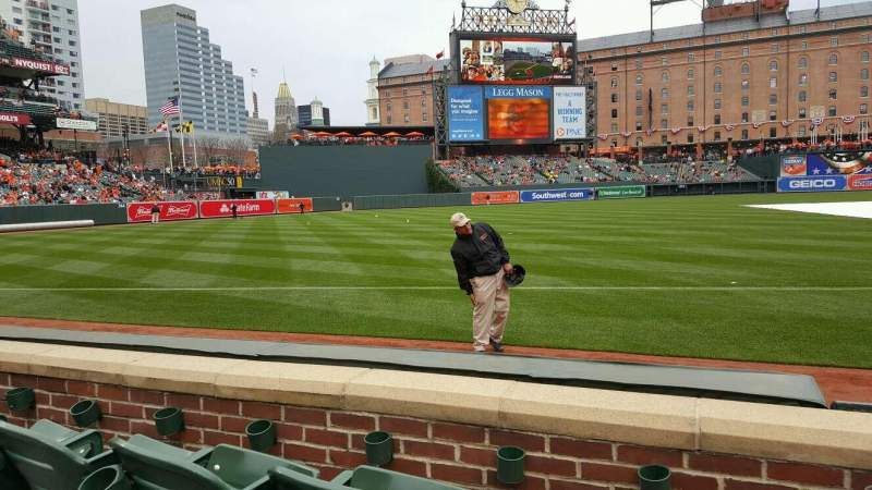 Oriole Park at Camden Yards, section 62, row 3, seat 1 ...