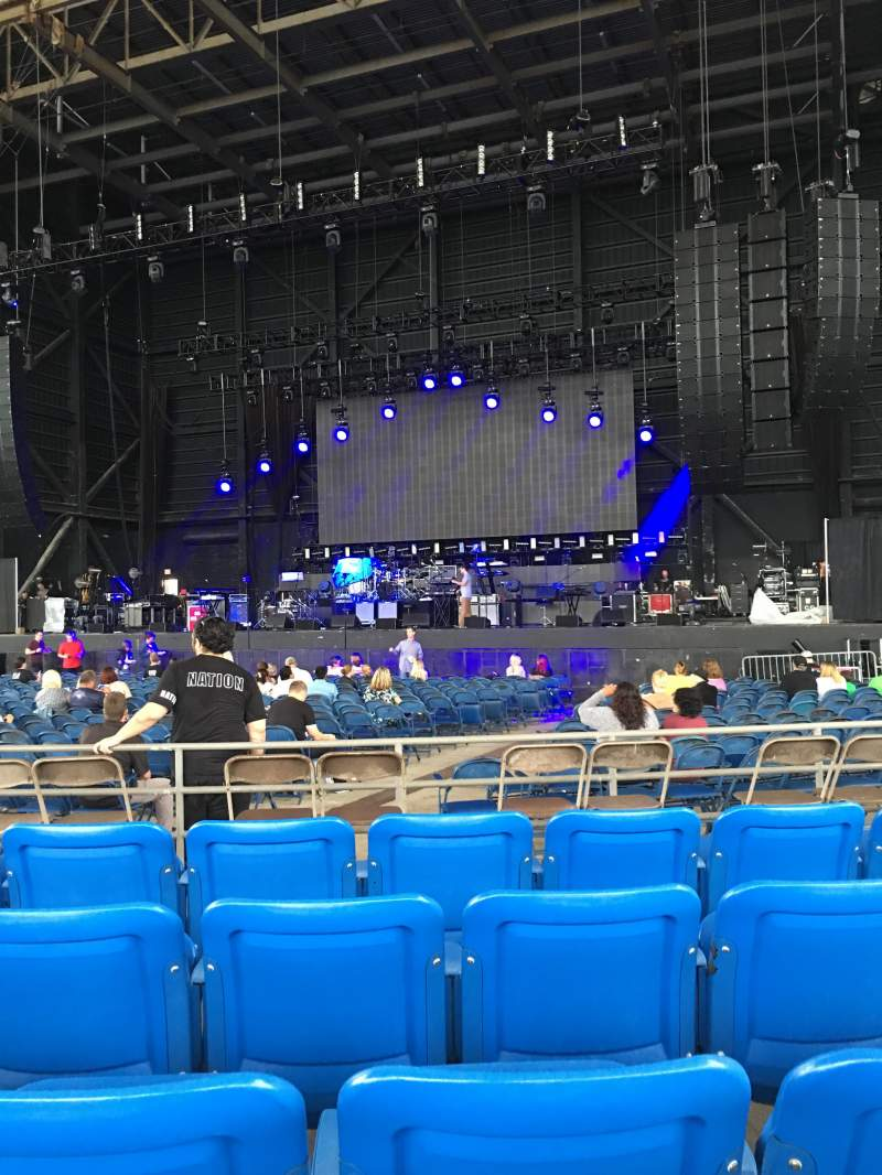 Seating view for MidFlorida Credit Union Amphitheatre Section 6 Row F Seat 13