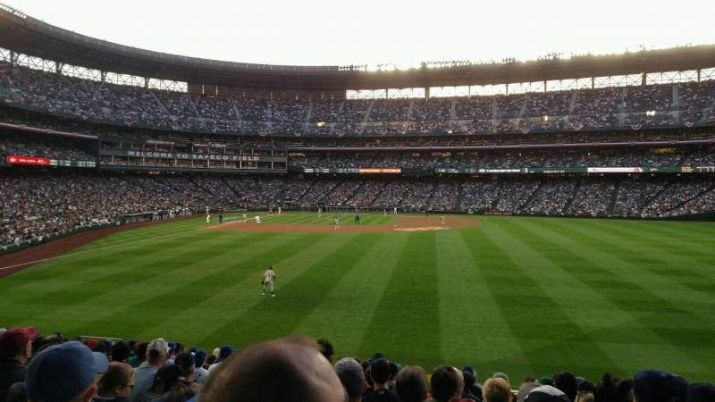 Seating view for Safeco Field Section 107 Row 36 Seat u