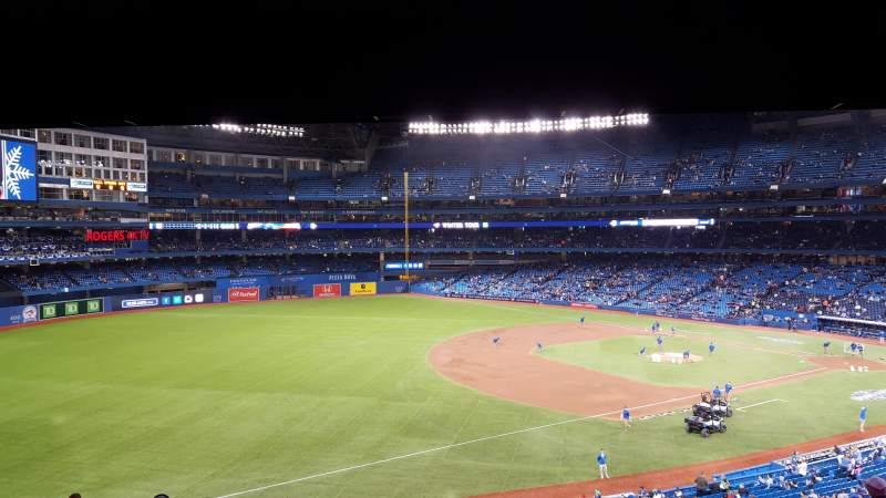 Seating view for Rogers Centre Section 235r Row 12 Seat 8