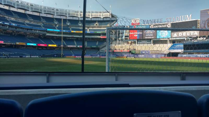 Seating view for Yankee Stadium Section 013 Row 2 Seat 10