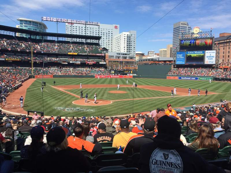 Seating view for Oriole Park at Camden Yards Section 32 Row 28 Seat 8