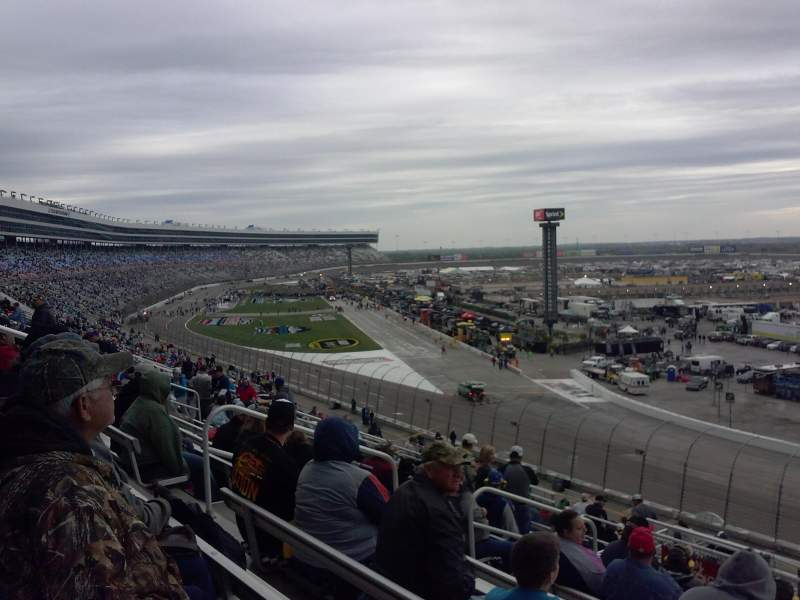 Seating view for Texas Motor Speedway Section 134 Row 42 Seat 11