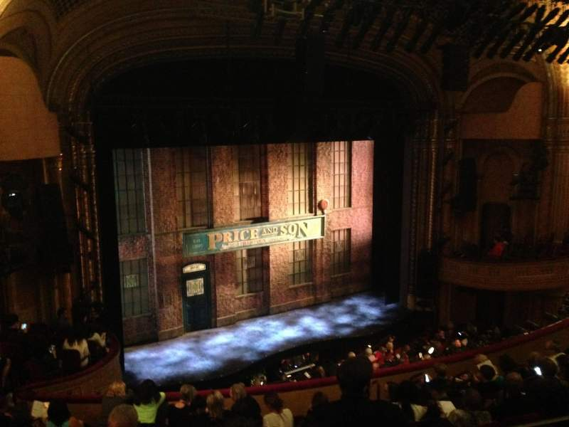Seating view for Al Hirschfeld Theatre Section Mezzanine Left Row K Seat 21