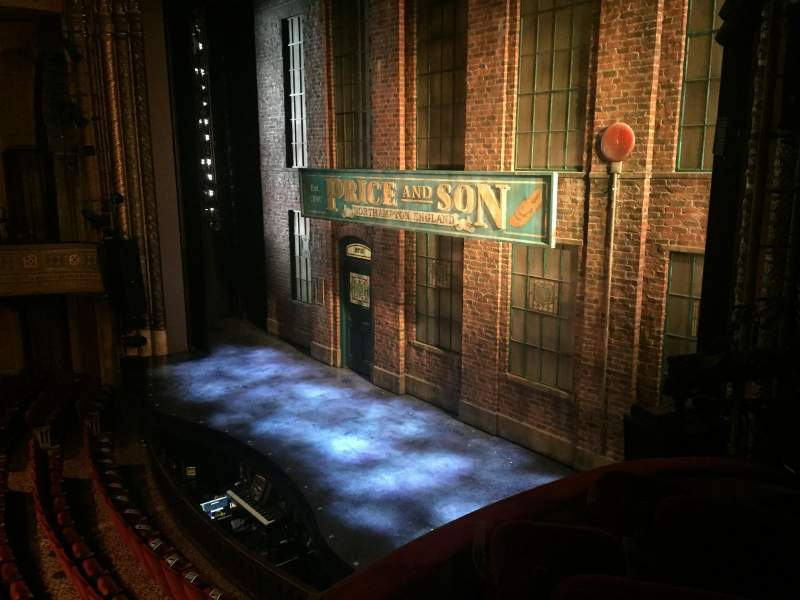Seating view for Al Hirschfeld Theatre Section Mezzanine Right Row Box D
