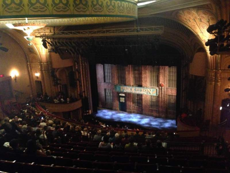 Seating view for Al Hirschfeld Theatre Section Mezzanine Right Row T Seat 18