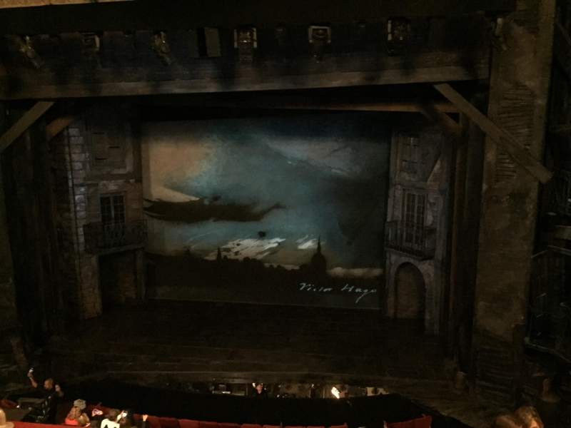 Seating view for Imperial Theatre Section Mezzanine Center Row D