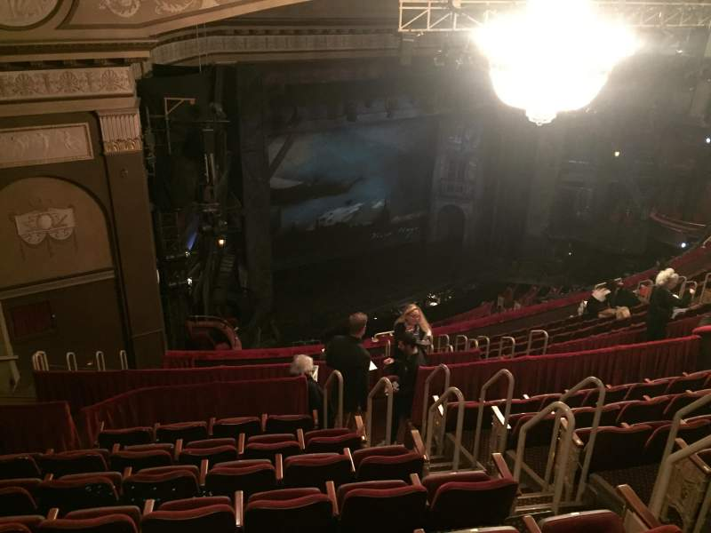 Seating view for Imperial Theatre Section First Balcony, Left Row K