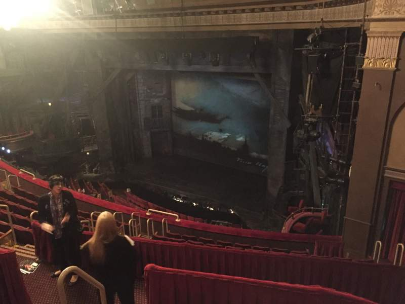 Seating view for Imperial Theatre Section Mezzanine Right Row E