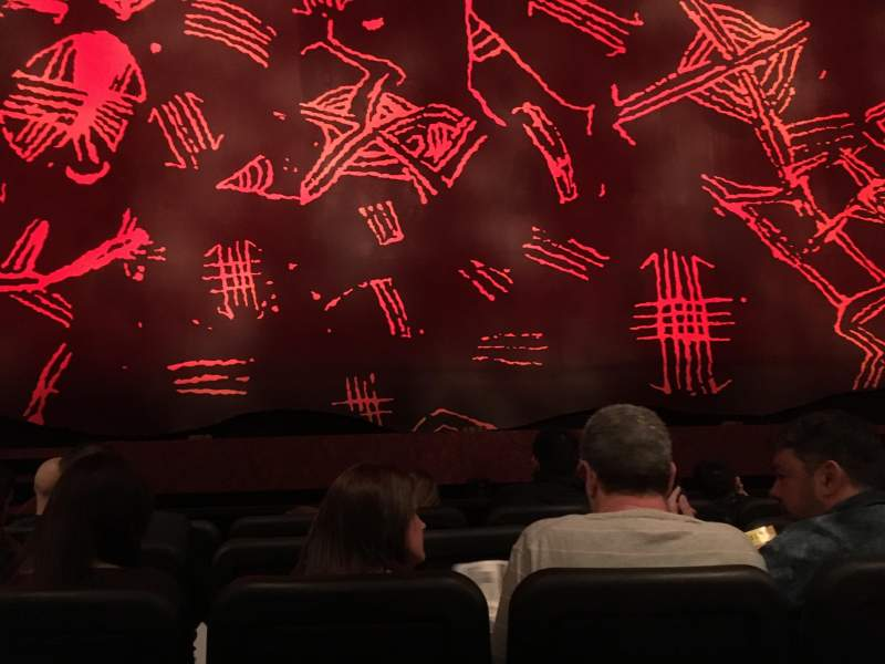 Seating view for Minskoff Theatre Section Orchestra Row E Seat 110