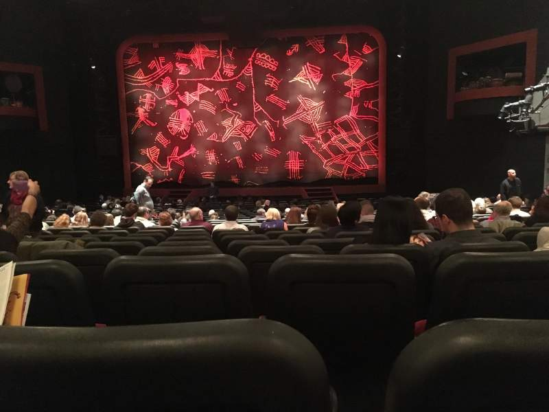 Seating view for Minskoff Theatre Section Orchestra Row Z Seat 122