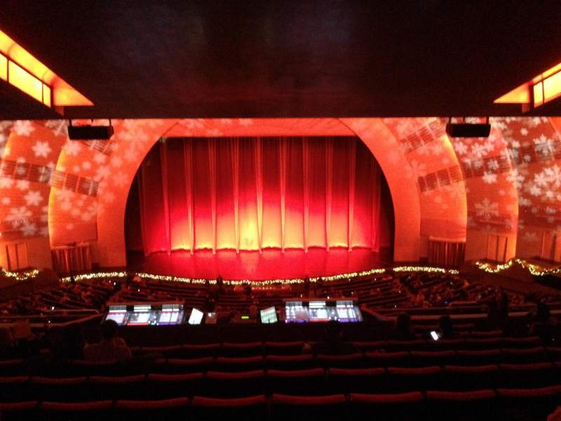 Seating view for Radio City Music Hall Section 2nd Mezzanine 4 Row K Seat 407