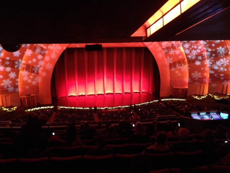 Seating view for Radio City Music Hall Section 2nd Mezzanine 5 Row K Seat 507