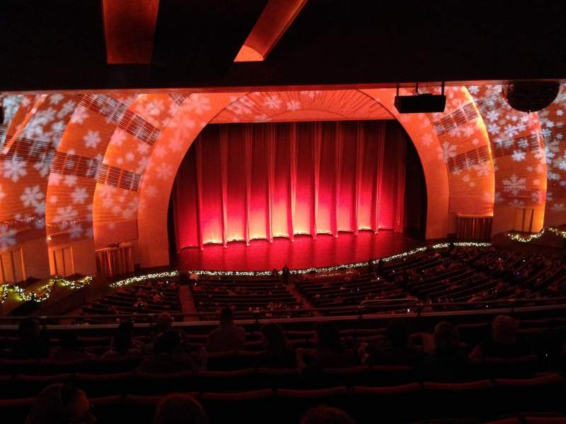 Seating view for Radio City Music Hall Section 2nd Mezzanine 6 Row J Seat 607