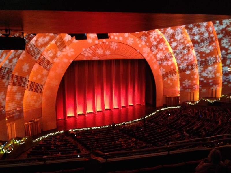 Seating view for Radio City Music Hall Section 2nd Mezzanine 7 Row G Seat 709