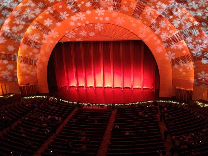 Seating view for radio city music hall Section 3rd Mezzanine 3 Row a Seat 305