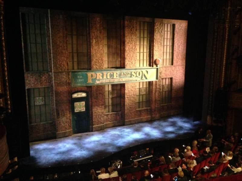 Seating view for Al Hirschfeld Theatre Section Mezzanine Left Row C Seat 9