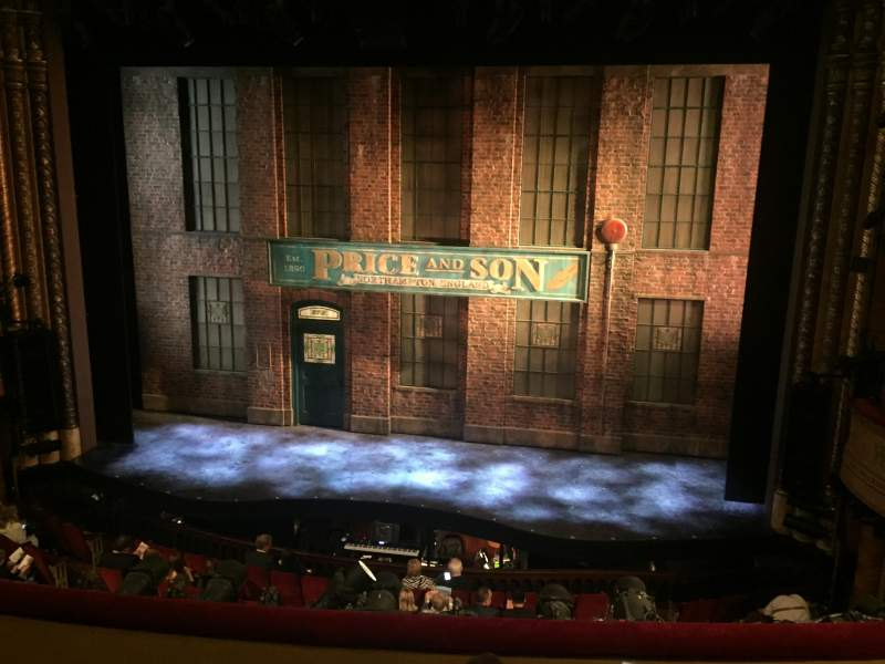 Seating view for Al Hirschfeld Theatre Section Mezzanine Center Row D Seat 101