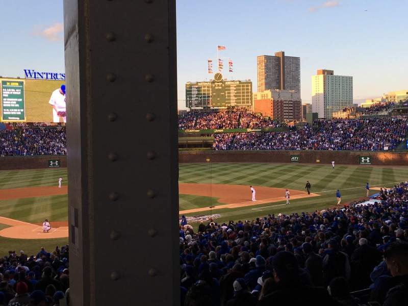Seating view for Wrigley Field Section 223 Row 9 Seat 101