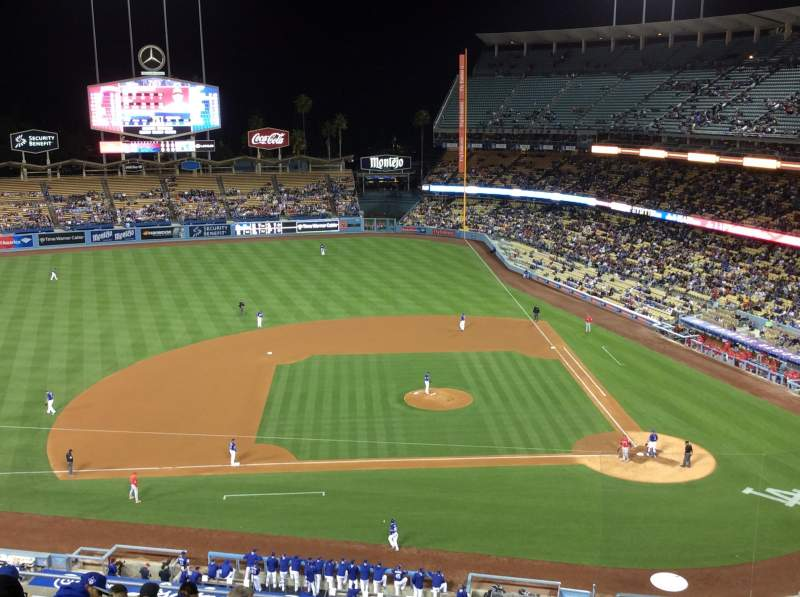 Seating view for Dodger Stadium Section 15RS Row L Seat 2