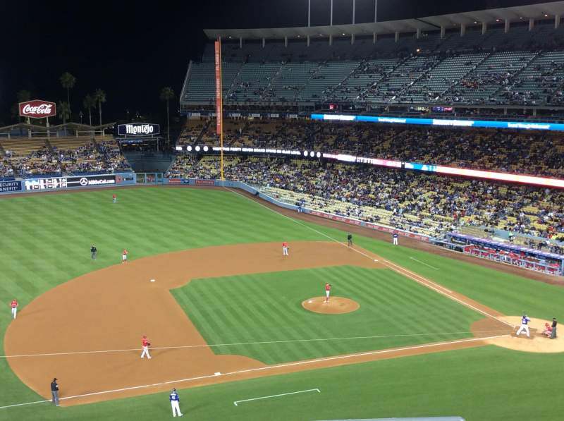 Seating view for Dodger Stadium Section 23RS Row E Seat 7