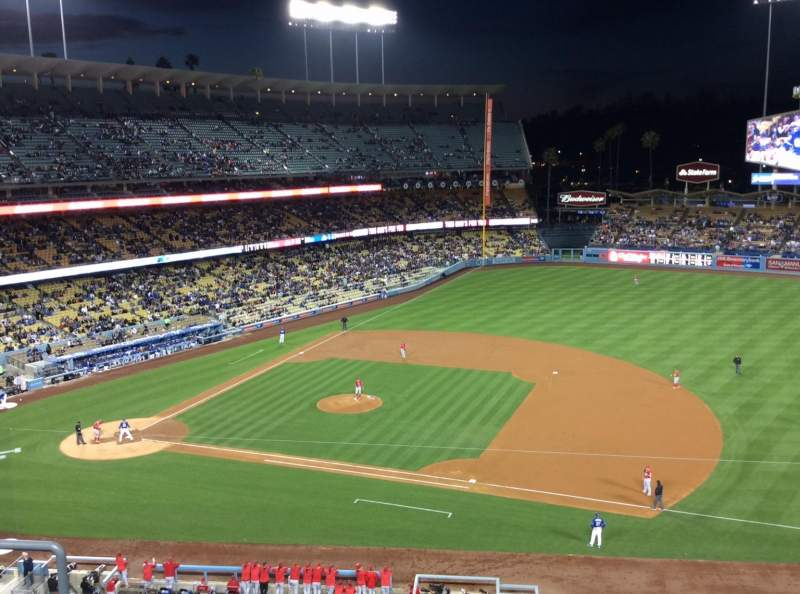 Seating view for Dodger Stadium Section 24RS Row E Seat 10
