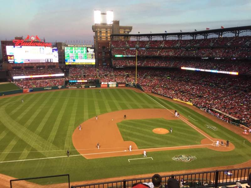 Seating view for Busch Stadium Section 357 Row 6 Seat 20