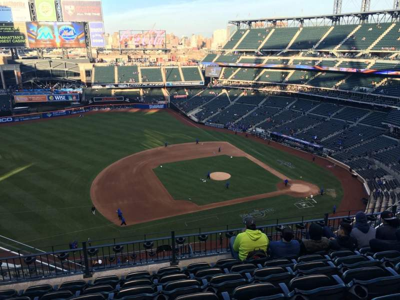 Seating view for Citi Field Section 522 Row 7 Seat 17