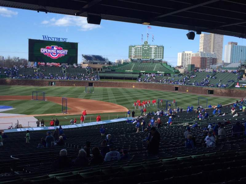 Seating view for Wrigley Field Section 226 Row 14 Seat 5