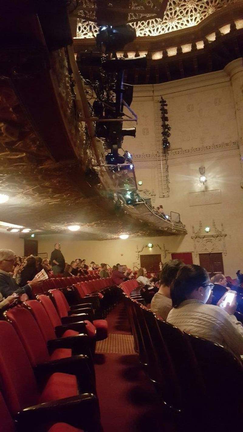 Seating view for Orpheum Theatre (San Francisco) Section orchestra rc Row T Seat 120